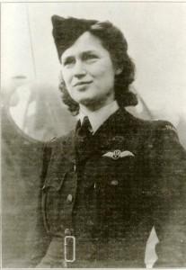 Jadwiga Piłsudska als RAF-Pilotin 1941