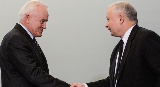 Leszek Miller (links) und Jarosław Kaczyński am 19. November 2014