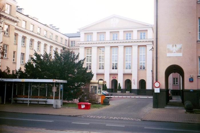Sitz der Obersten Kontrollkammer in der Warschuer Filtrowastrasse