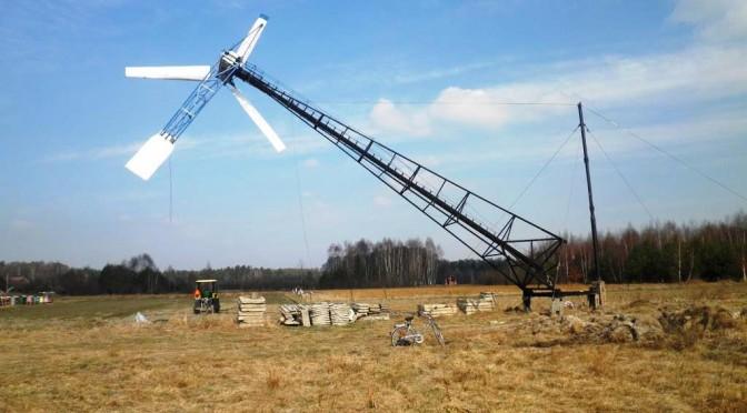 Windparks im Sumpf