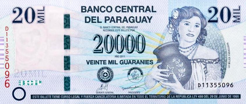 20.000 Guarani aus Polen.