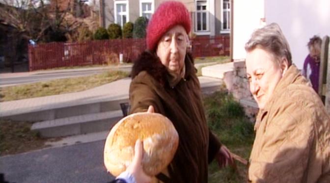 Brot auf dem Rückzug