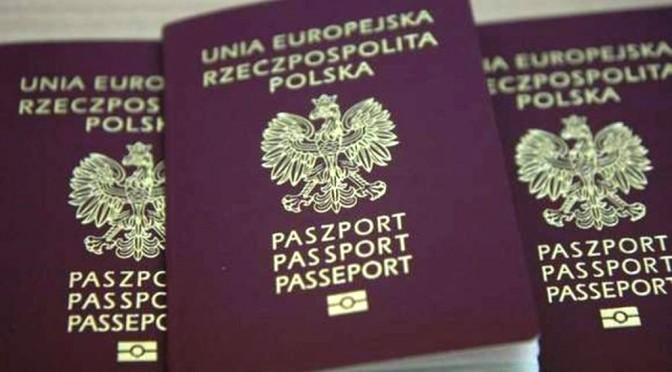 Polnische Reisepässe – weniger Einlässe