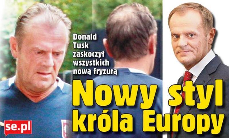 """Tusk-Jubel 3: """"Donald Tusk hat mit seiner neuen Frisur alle überrascht"""""""