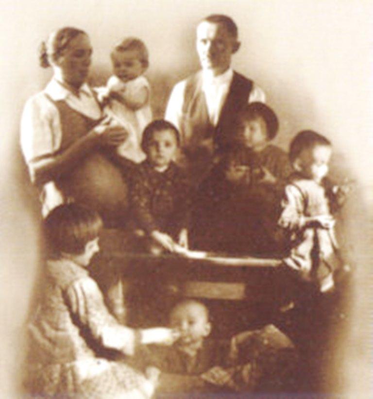 Das letzte Foto der Familie Ulma.