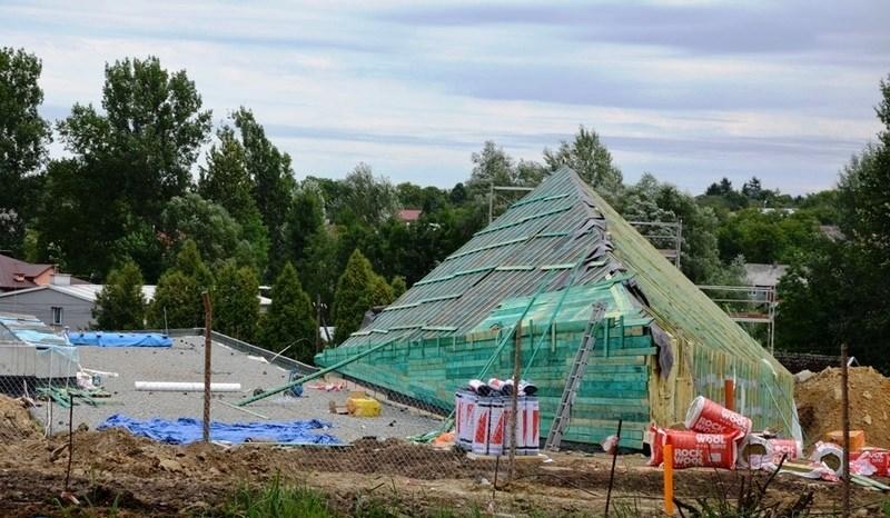 Museum in Markowa. Satnd der Arbeiten Anfang 2015.