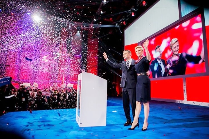 Wahlkampf-Auftaktveranstaltung in Warschau (am 7. Februar 2015 – Anm. RdP). Es war eine der besten die Polen jemals gesehen hat. Das war der Beginn des Durchbruchs.