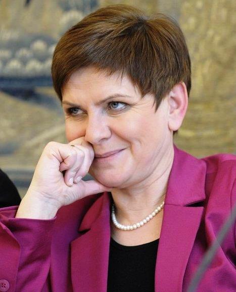 Beata Szydło, die erfolgreiche Wahlkampfleiterin und, vielleicht, Polens künftige Ministerpräsidentin.