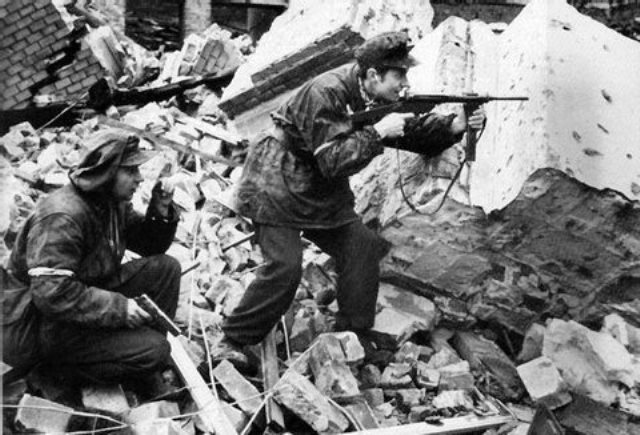 Warschauer Auftsand 1944.