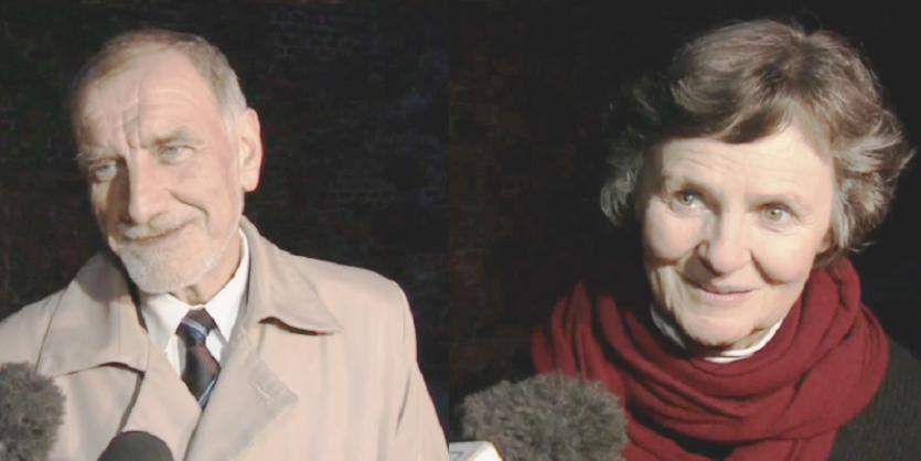 Die Eltern: Prof. Jan und Prof. Janina Duda.