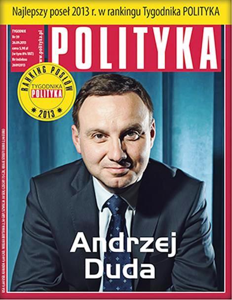 "Der beste Sejm-Abgeordnere. ""Polityka"" im September 2013."