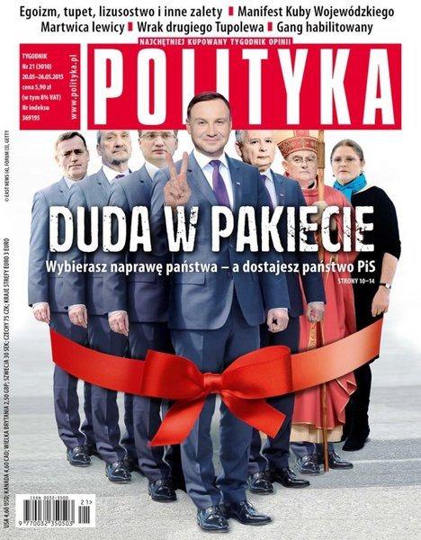 """Der beste Feind. """"Polityka"""" im Mai 2015."""