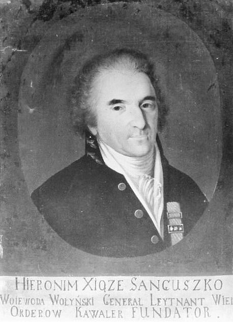 Fürst Hieronim Janusz Sanguszko (1743-1812) gilt als Bergründer derArabe-Pferderzucht in Polen.