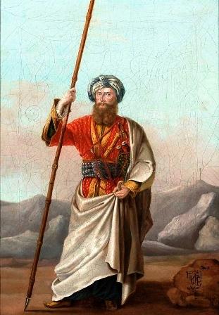 Graf Wacław Seweryn Rzewuski (1784-1831), in Arabien wie in Polen zu Hause, gründete 1817 das Gestüt in Janów Podlaski.