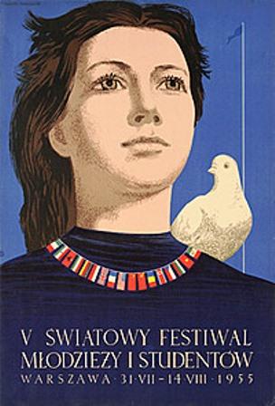 Fanfor Festiwal Młodzieży 1955