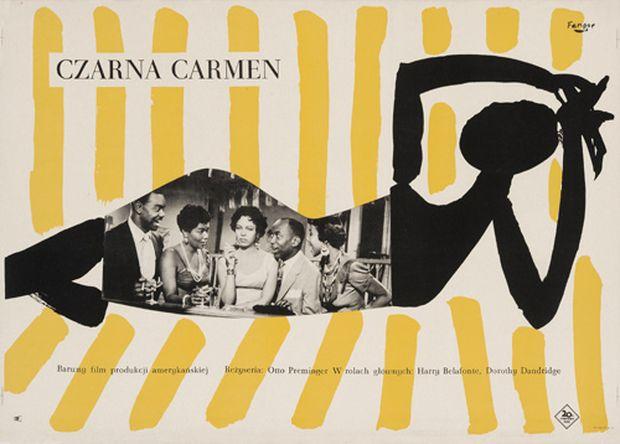 Fangor Czarna Carmen 1959