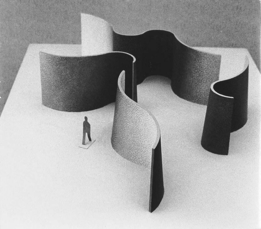 Fangor Struktury przestrzenne 1969