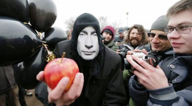 Ein Apfel täglich – Herrn Putin abträglich