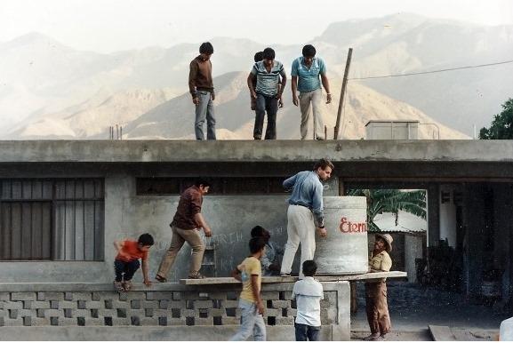 MIsjonarze Peru praca foto