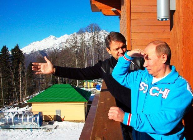 Mak Putin foto