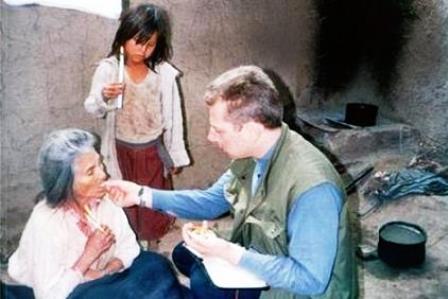 Misjonarze Peru komunia foto