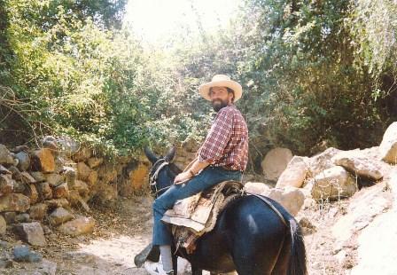 Misjonarze Peru na koniu foto