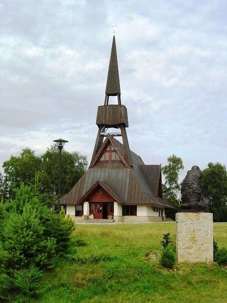 Ojciec Góra Jamna kościół