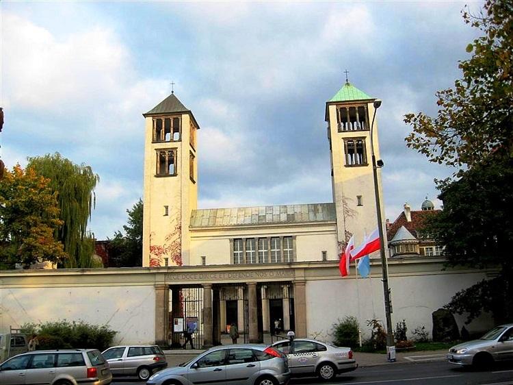 Ojciec Góra Kościół Dominikanów Poznań foto