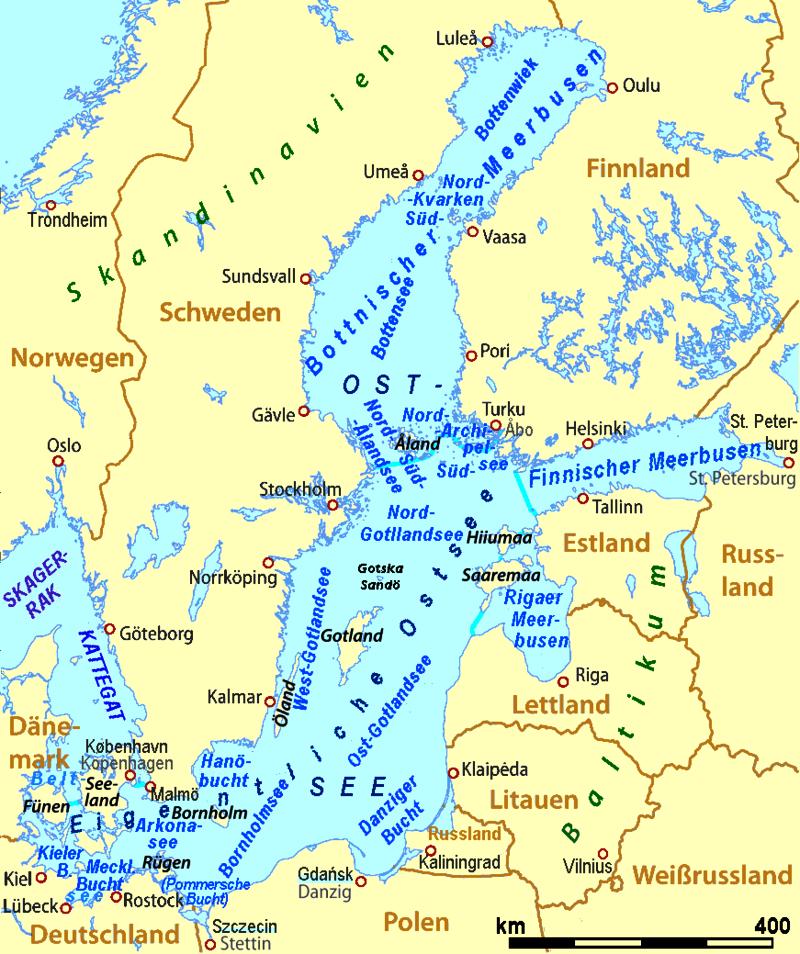 Bałtyk mapa