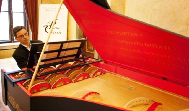 Viola organista wnetrze fot