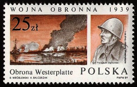 MIIWS Westerplatte znaczek 1