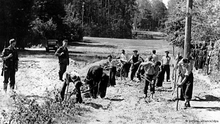 Scheipers robotnicy przymusowi fot.