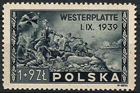 WIIWS Westerplatte znaczek 2
