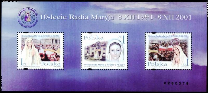 znaczki-10-lat-radia-maryja