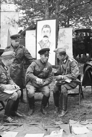 Bauman Niemcy Sowieci fot.
