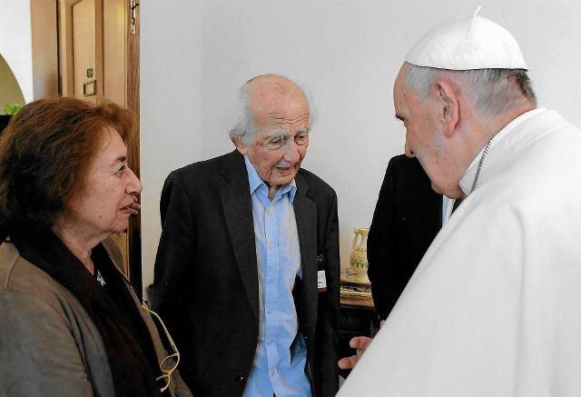 Bauman papież Franciszek fot.
