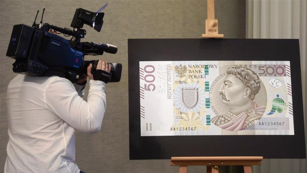 500 złotych prezentacja fot.