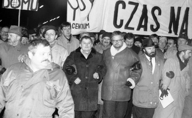 Złotówka Kaczyński u Glapiński styczeń 1993 fot.