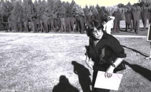 Abakanowicz 2002 odsøowniécie wystawy Cytadela fot.