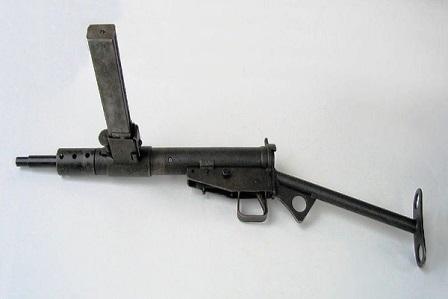 Broń Przyborowski Sten fot.