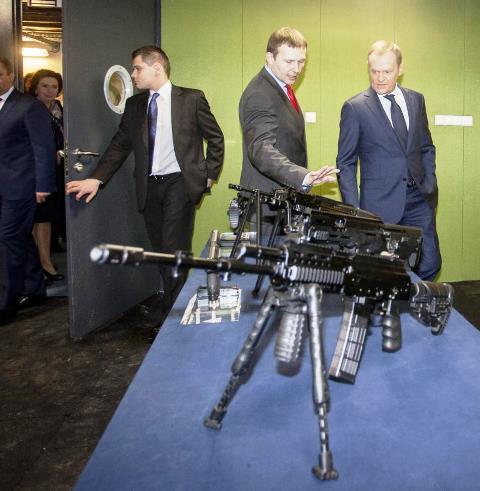 Broń Tusk fot.