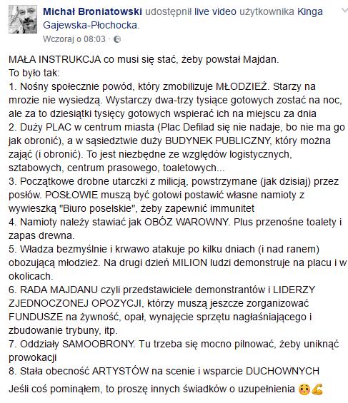 Dekan Broniatowski Majdan fot.