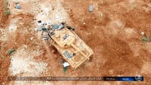 Leopard zniszczony 2 fot.