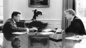 Brzeziński Carter 22.02.1977 fot.