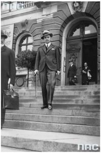 Brzeziński Tadeusz Lipsk 1932 fot.