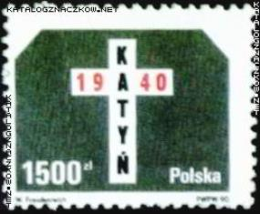 Zakirow zbaczek Katyń 1990