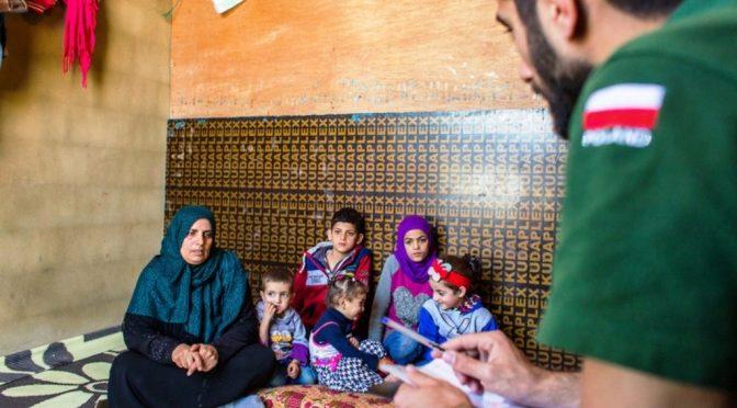 Syrien, Irak, Libanon. Polen hilft vor Ort