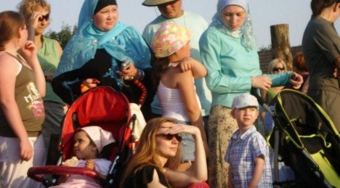 Seltsames Gebaren einiger Tataren