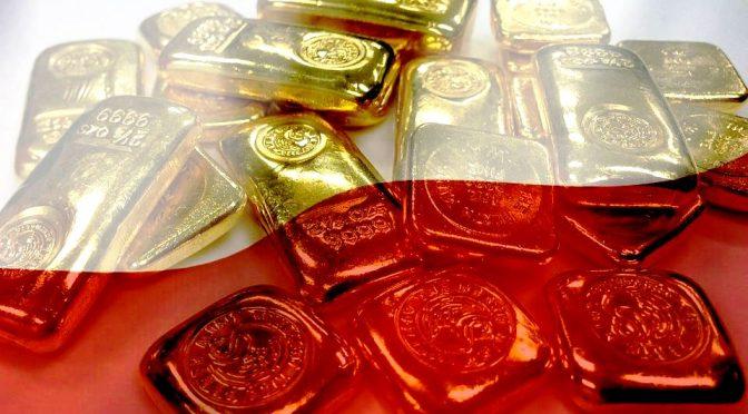 Polens Goldschatz auf der Flucht
