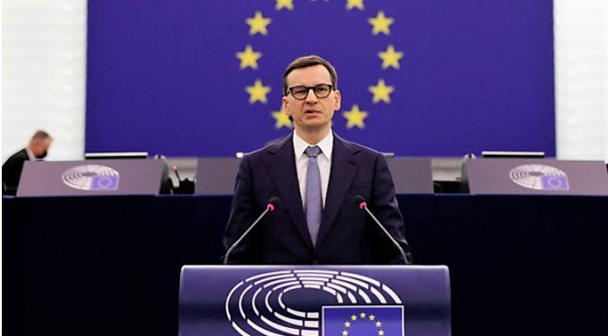 """""""Es lebe die Europäische Union souveräner Staaten!"""" Mazowiecki-Rede in Strassburg"""